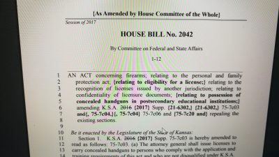 HB 2042 explanation of vote